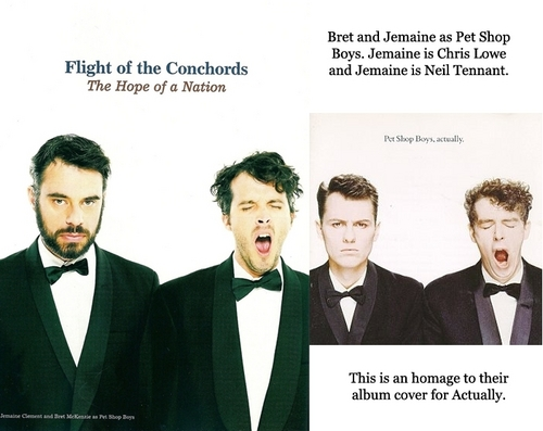 Flight of the Conchords wallpaper called Under the Radar Comparisons