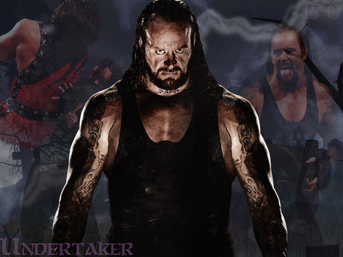 Professional Wrestling Hintergrund called Undertaker