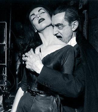 Vampira & Bela Lugosi