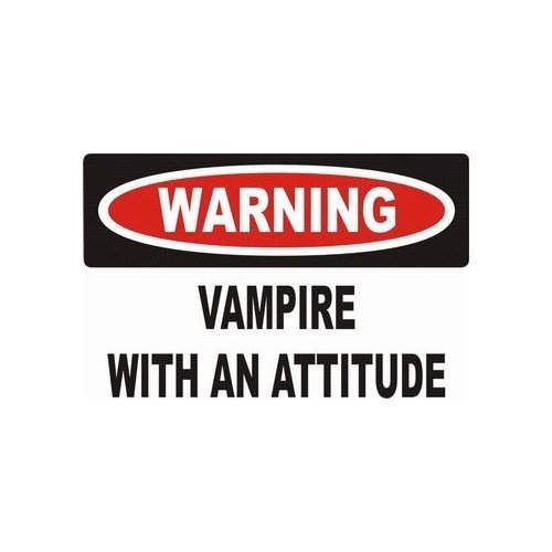 Vampire With Attitude
