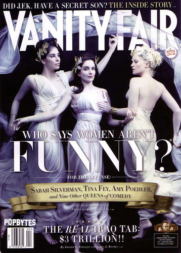 Vanity Fair April 2008 - tina-fey Photo