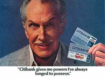 Vincent endorses CitiBank