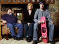 Bam, April & Phil - bam-margera photo