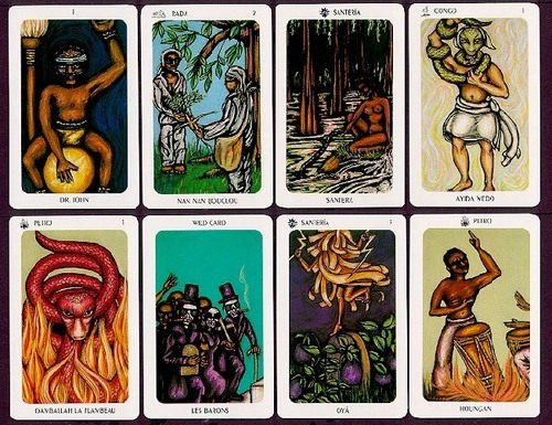 Voodoo Tarot Cards
