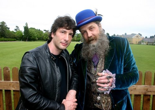 W/ Neil Gaiman - alan-moore Photo