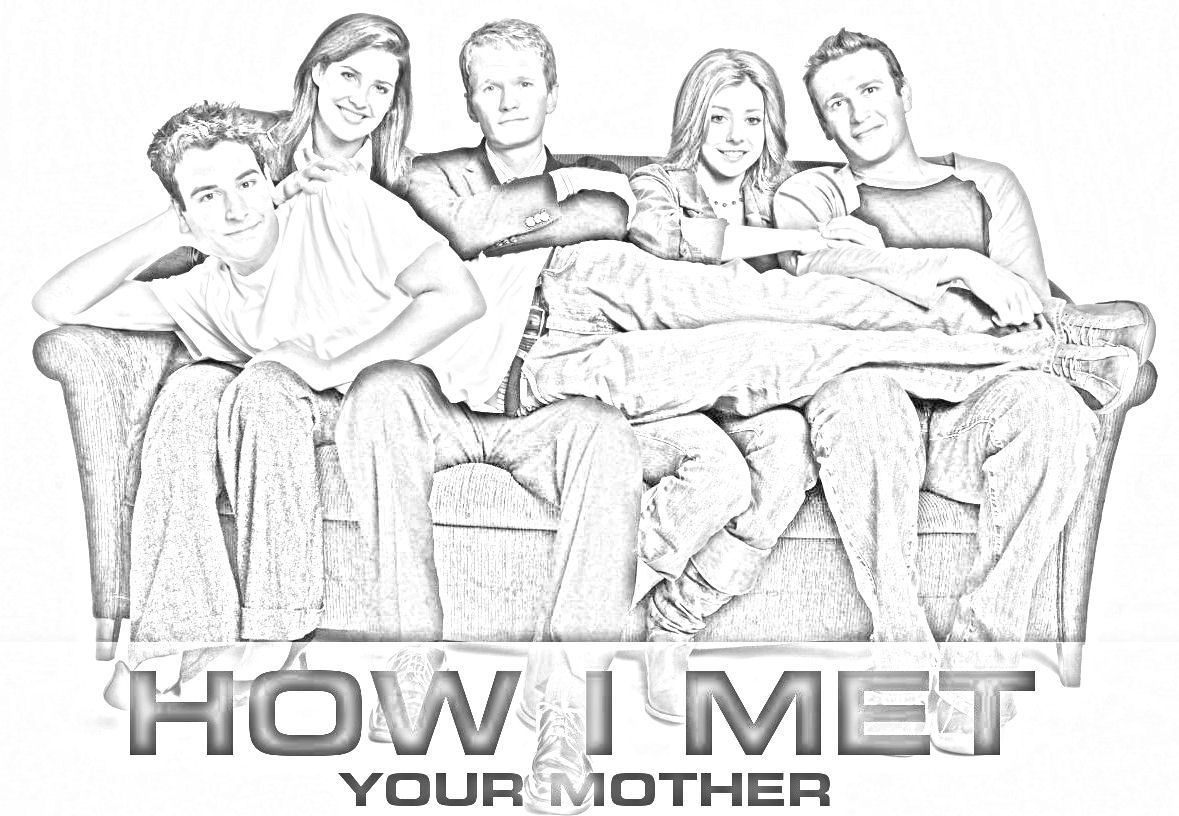 Wallpaper - How I Met Your Mother 1179x816