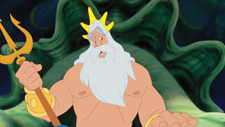 Walt Disney Screencaps - King Triton