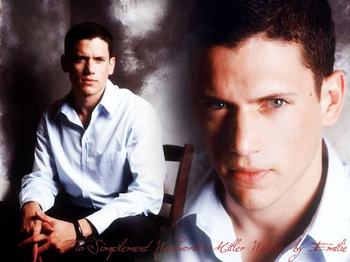 Wentworth Miller Hintergrund with a cleaver titled Went