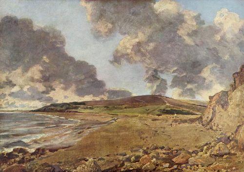 Weymouth vịnh, bay - John Constable