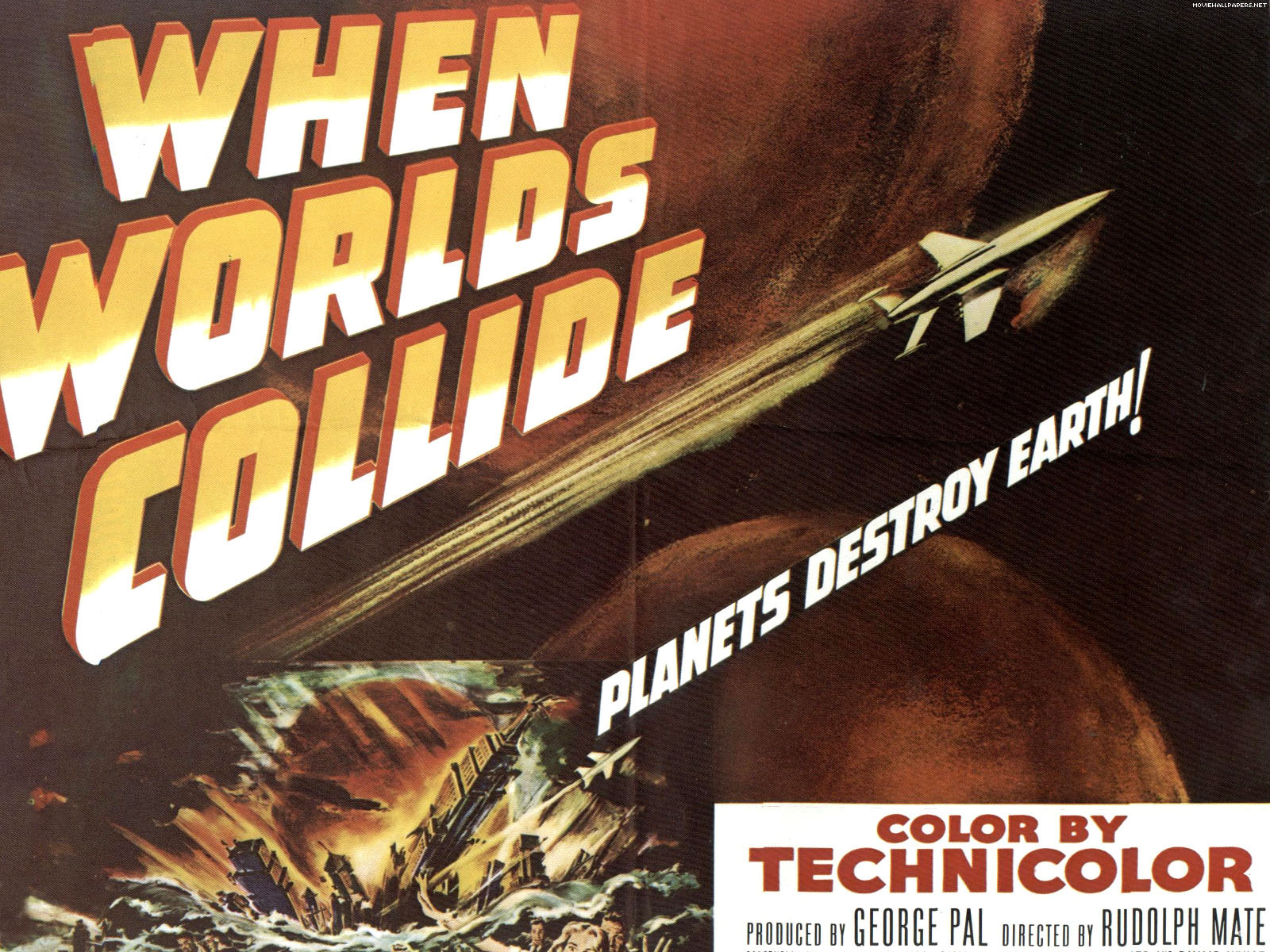 When Worlds Collide Classic Science Fiction Films
