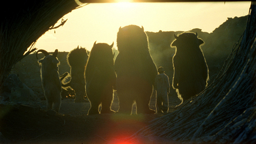 Where The Wild Things Are 壁纸 titled Where The Wild Things Are film