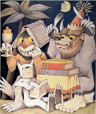 Where The Wild Things Are karatasi la kupamba ukuta probably with anime entitled Where The Wild Things Are