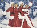 White Christmas movie w'paper