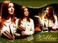 Willow on Angel - the-buffyverse wallpaper