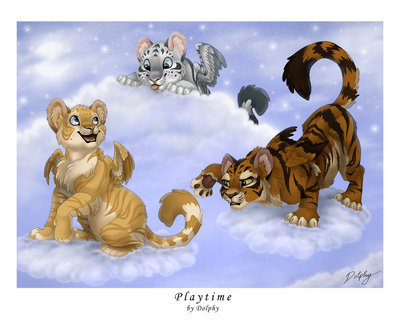 Tiger Fantasy Pictures Fantasy Winged Tigers