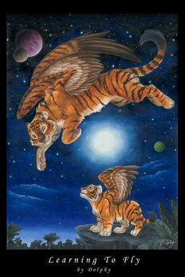 Winged Tigers