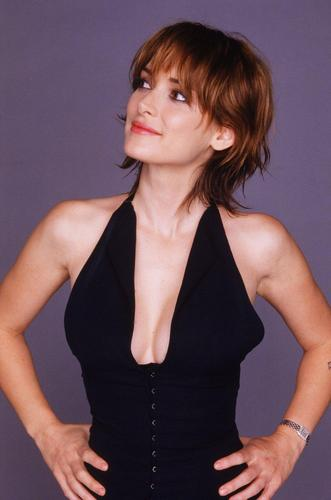 Winona Ryder wallpaper probably containing a cocktail dress, a bustier, and a chemise entitled Winona Ryder