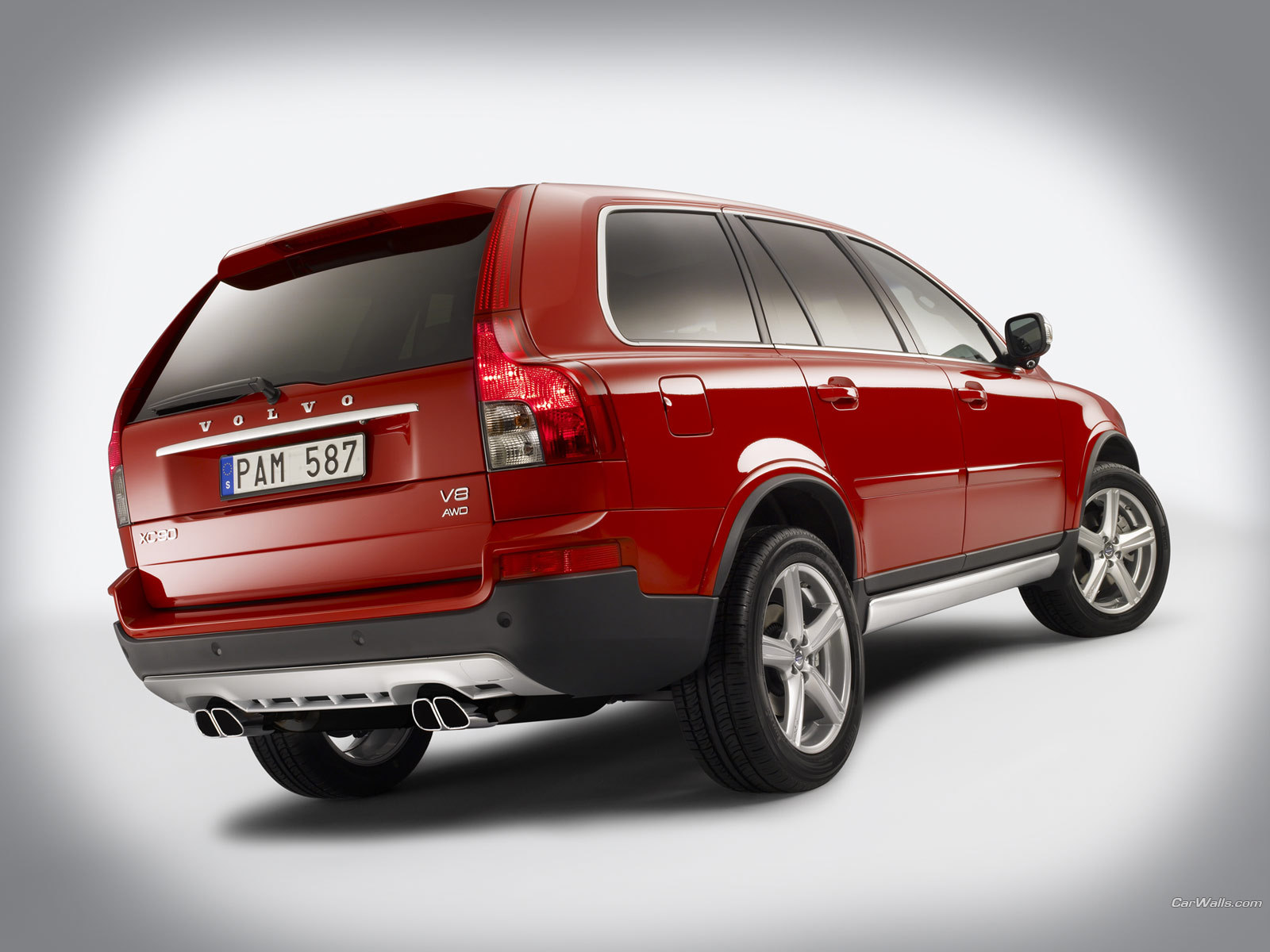 volvo images xc90 r design hd wallpaper and background xc90 v8 sport back