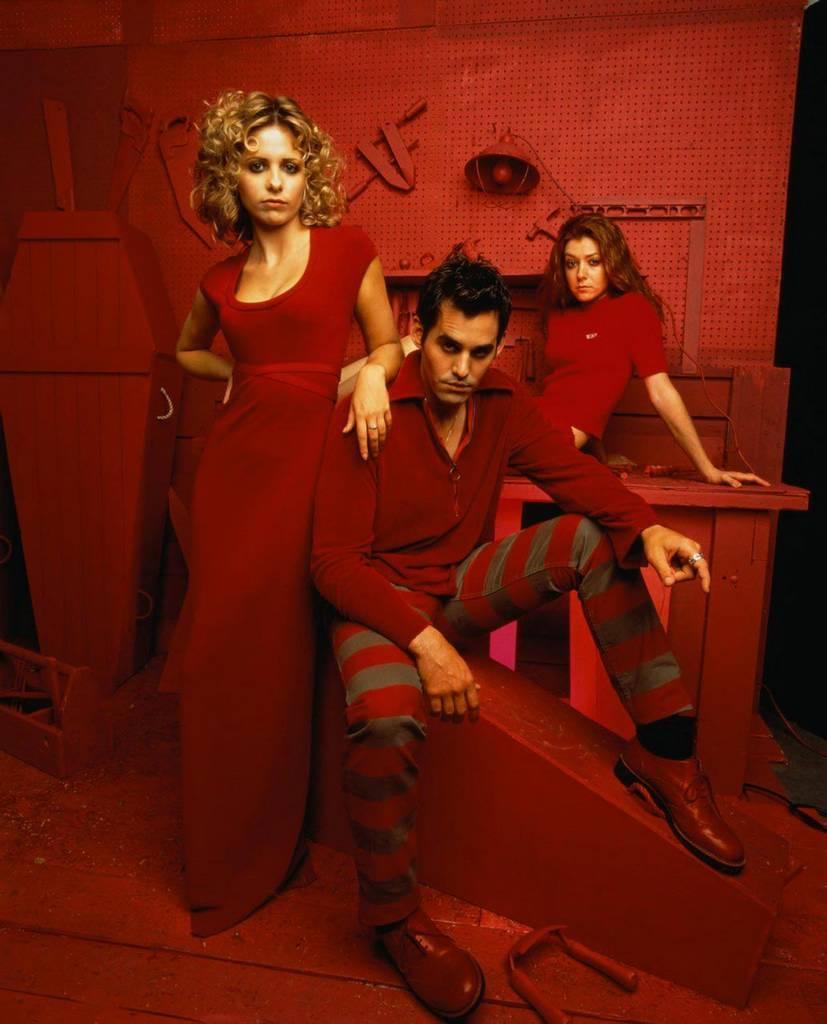 Xander,Buffy & Willow