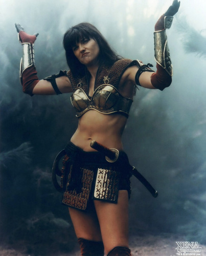Xena: Warrior Princess wallpaper entitled Xena - A Friend in Need (Season 6)