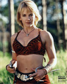 Xena - Gabrielle Promo Image - renee-oconnor photo