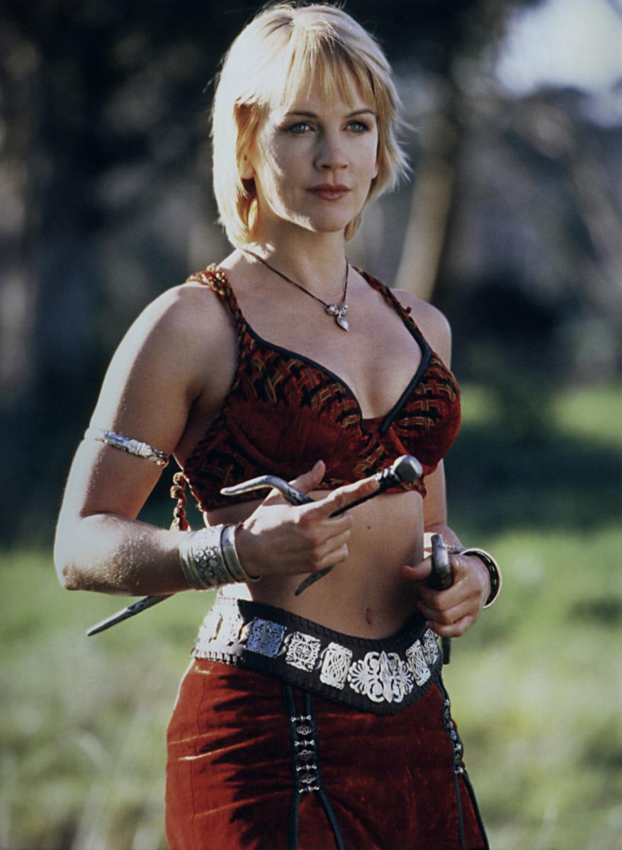 Renee O Connor Xena - Gabrielle Promo ImageXena Warrior Princess Gabrielle Hair