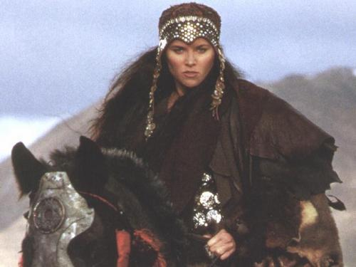 Xena: Warrior Princess wallpaper probably with a surcoat, a horse trail, and a horse wrangler entitled Xena pics