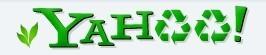 Yahoo!'s Earth দিন Logo