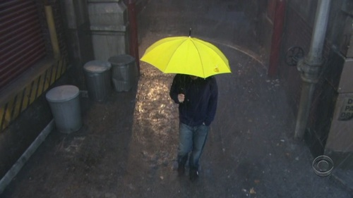 Yellow Umbrella-Ted