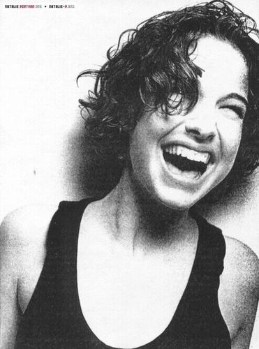 Pelakon wanita kertas dinding called Young Natalie Portman
