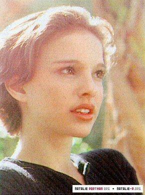 Pelakon wanita kertas dinding containing a portrait titled Young Natalie Portman