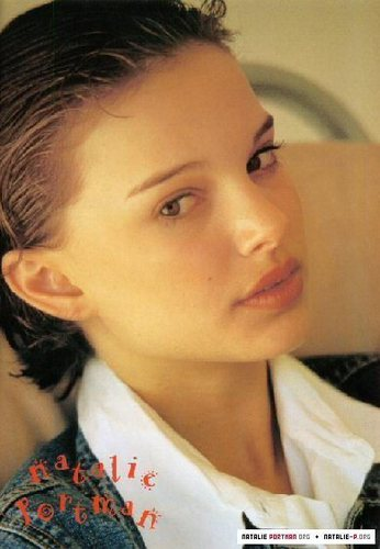 Actresses wallpaper probably with a portrait called Young Natalie Portman