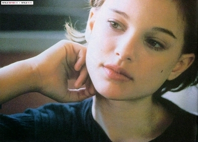 atrizes wallpaper with a portrait titled Young Natalie Portman