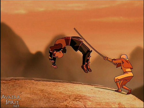 Avatar The Last Airbender Achtergrond Called Aang And Zuko