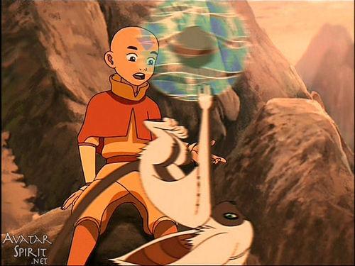 Avatar The Last Airbender kertas dinding titled airbander momo