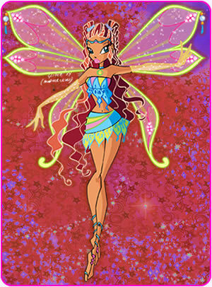 Winx Club fond d'écran called aisha