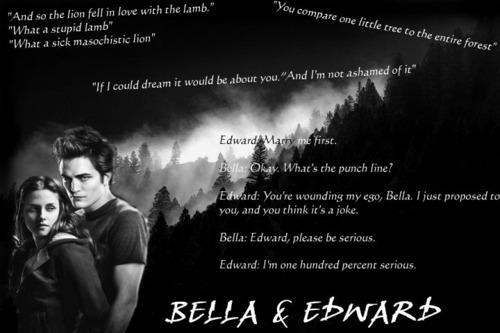 bella and edward 愛