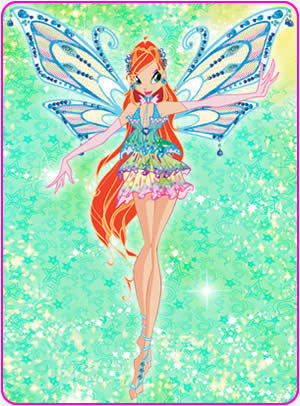 The Winx Club kertas dinding called bloom
