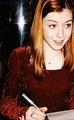 buffy convention - alyson-hannigan photo