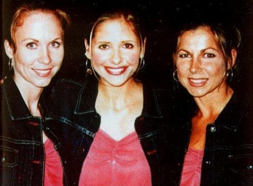 buffy & her stunt doubles