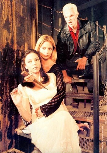 buffy, spike and dru