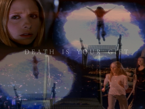 buffy, a caça-vampiros wallpaper probably containing a show, concerto and a portrait called buffy wallpaper