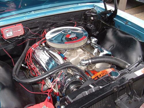 camero ss engine