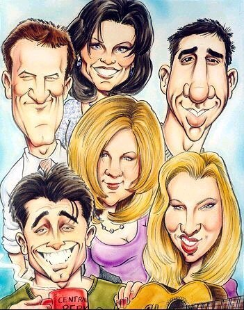 Friends wallpaper called cartoon friends