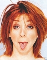 cosmo shoots - alyson-hannigan photo
