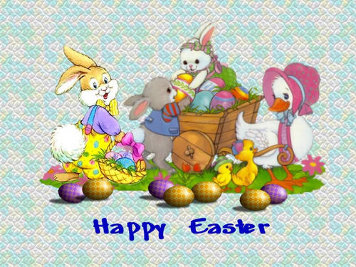 cute easter w'paper - easter Wallpaper