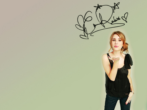 Emma Roberts Hintergrund entitled emma sweey