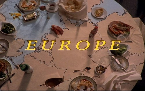 eurotrip table, tableau map