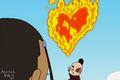 불, 화재 심장