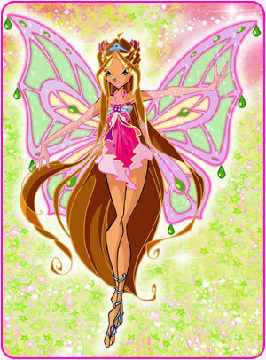 The Winx Club kertas dinding called flora